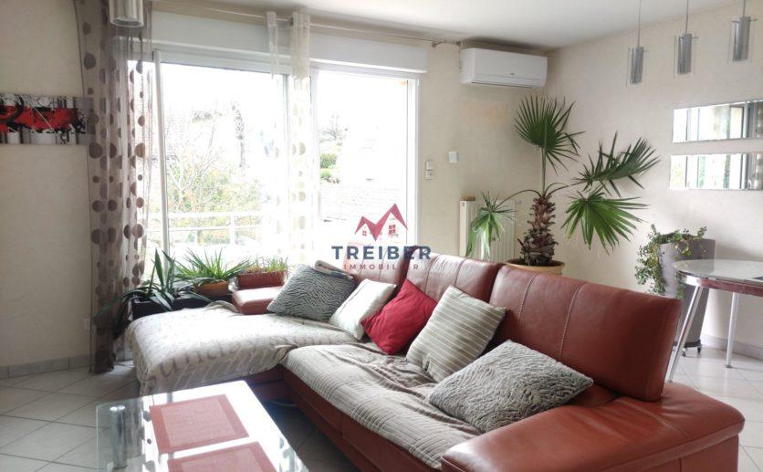Appartement avec grande terrasse et 6 piéces
