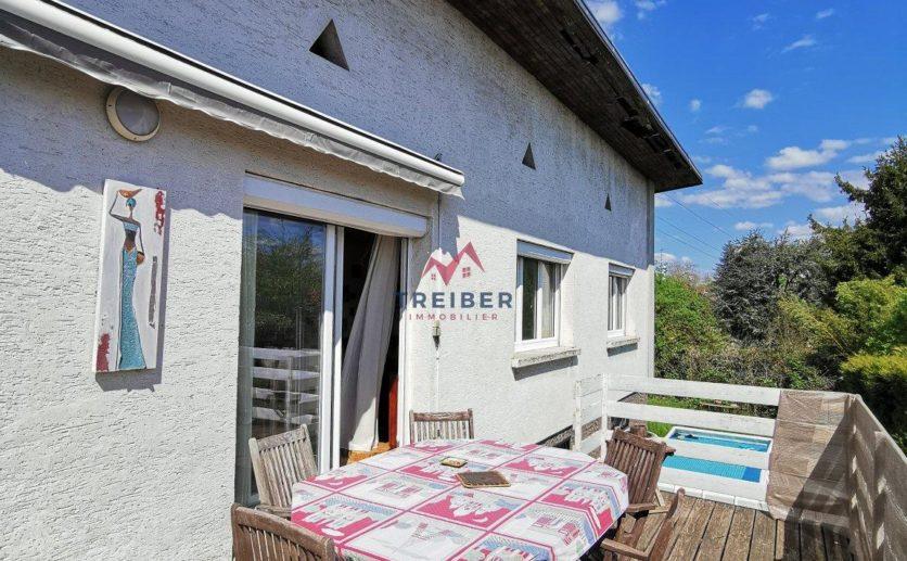 Maison Belfort limite Essert de 162 m2 sur 7 ares de terrain