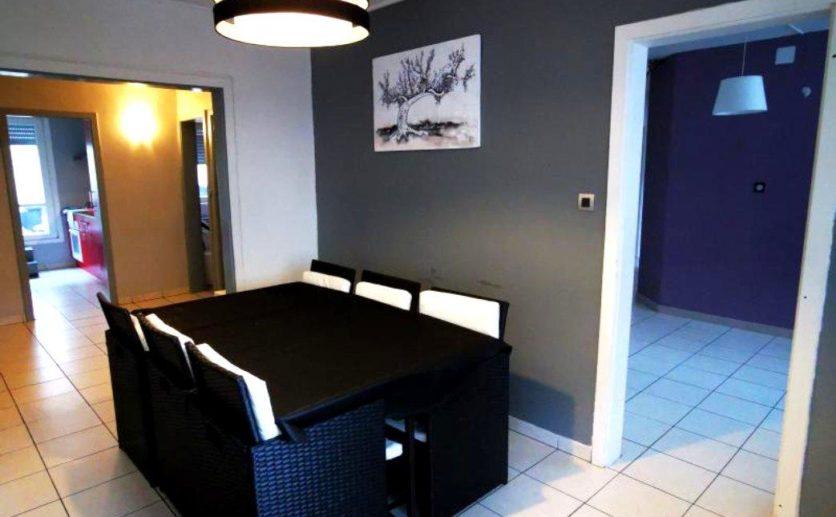 Appartement T 5  Belfort centre ville de standing avec terrasse de 50 m2 et garage privatif