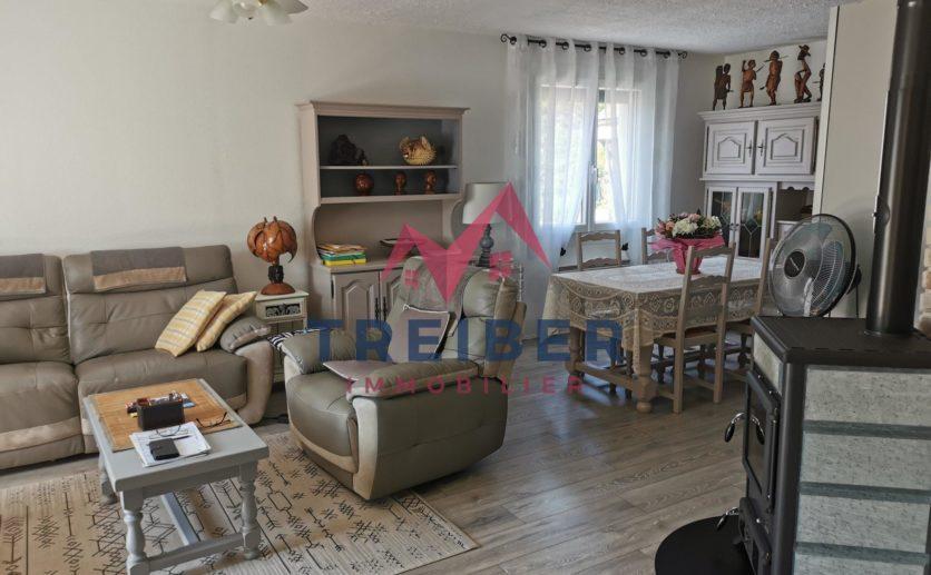 Maison Chalonvillars de 120 m2 sur sous sol en parfait état 750 ares de terrain située au calme
