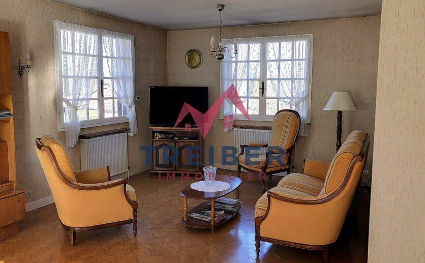 À Bavilliers, maison à vendre sur 7ares 72  avec Treiber immobilier